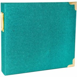 "Bild von B-Ware Project Life D-Ring Album 8""X8"" Teal Glitter"