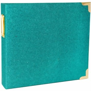 "Bild von Project Life D-Ring Album 8""X8"" Teal Glitter"