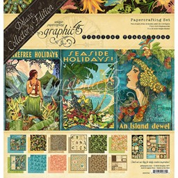 "Bild von Graphic 45 Deluxe Collector's Edition Pack 12""X12""-Tropical Travelogue"