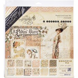Bild von Graphic 45 Deluxe Collector's Edition Pack Projektkit - A Ladies' Diary