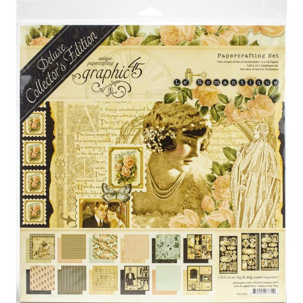"Bild von Graphic 45 Deluxe Collector's Edition Pack 12""X12""-Le Romantique"