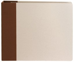 "Bild von American Crafts Modern D-Ring Album 12""X12""-Chestnut"