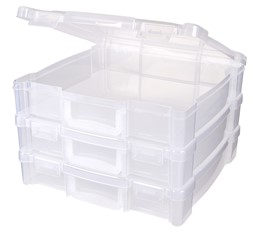 "Bild von ArtBin Essentials Box W/Handle-12""X12"" Translucent"