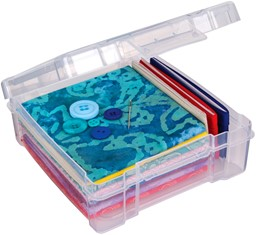 "Bild von ArtBin Essentials Box-6""X6"" Translucent"