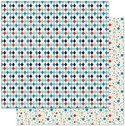 "Bild von Hooray Double-Sided Cardstock 12""X12""-#2 Diamond"