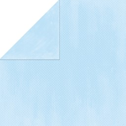 "Bild von BoBunny Double Dot Double-Sided Textured Cardstock 12""X12""-Powder Blue"