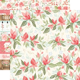 "Bild von Farmhouse Market Double-Sided Cardstock 12""X12""-Timeless Floral"