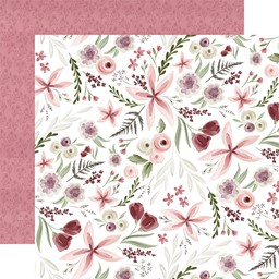 "Bild von Flora No. 3 Double-Sided Cardstock 12""X12""-Elegant Large Floral"