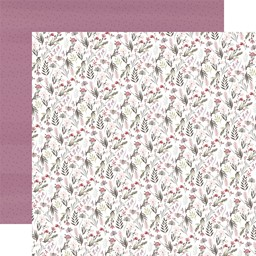 "Bild von Flora No. 3 Double-Sided Cardstock 12""X12""-Elegant Small Floral"