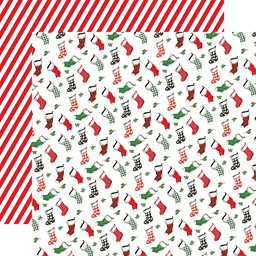 "Bild von Dear Santa Double-Sided Cardstock 12""X12""-Stockings"