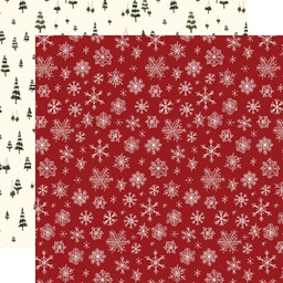 "Bild von Hello Christmas Double-Sided Cardstock 12""X12""-Snowflakes"