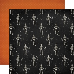 "Bild von Halloween Market Double-Sided Cardstock 12""X12""-Skeletons"