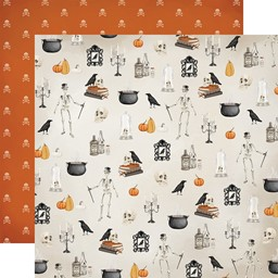 "Bild von Halloween Market Double-Sided Cardstock 12""X12""-Haunted Nights"