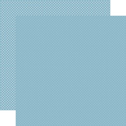 "Bild von Carta Bella Dots Double-Sided Cardstock 12""X12""-Blue"
