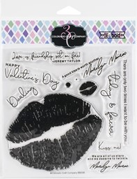"Bild von Colorado Craft Company Clear Stamps 6""X6""-Love's Kiss-Big & Bold"