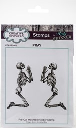 Bild von Creative Expressions Rubber Stamp By Andy Skinner-Pray