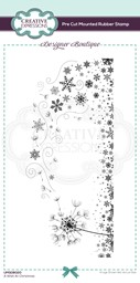 Bild von Creative Expressions Designer Boutique Pre Cut Rubber Stamp-A Wish At Christmas Dl