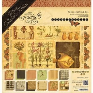 Bild von Graphic 45 Deluxe Collector's Edition Pack Projektkit  - BOTANICABELLA Collection