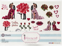 Bild von Dress My Craft Image Sheet 240gsm A4 2/Pkg-For You Always