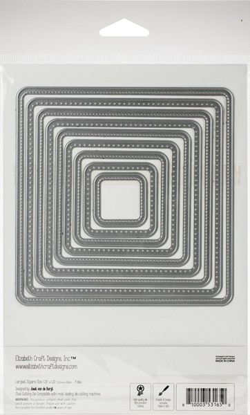 Bild von Elizabeth Craft Metal Die-Stitched Rounded Square