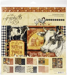 "Bild von Graphic 45 Collection Pack 12""X12""-Farmhouse"