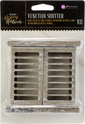 "Bild von Prima Marketing Memory Hardware Embellishments-Venetian Shutters 4""X4"""