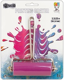 Bild von Ranger Gel Press Plate Brayer -Medium-