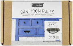 "Bild von Prima Marketing Re-Design Cast Iron Pull 2/Pkg-Rhea 4.4""X1"""