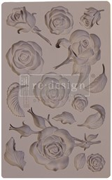 "Bild von Prima Marketing Re-Design Mould 5""X8""X8mm-Fragrant Roses"