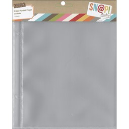 "Bild von Simple Stories Sn@p! Pocket Pages For 6""X8"" Binders 10/Pkg-(1) 6""X8"" Pocket"