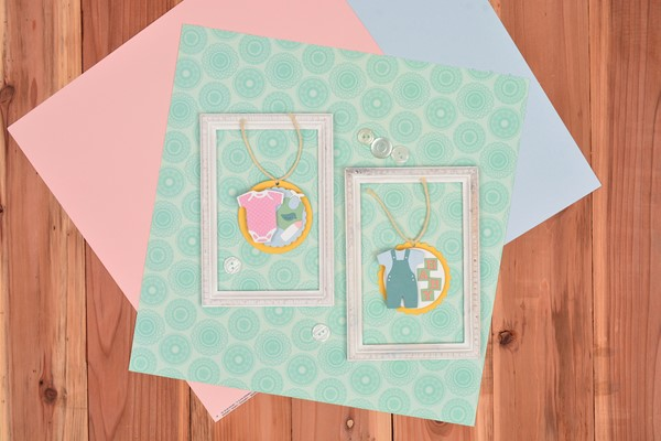Bild von Sizzix Thinlits Dies By Lisa Jones-New Baby #2