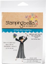 Bild von Stamping Bella Cling Stamps-Uptown Girl Grace The Graduate