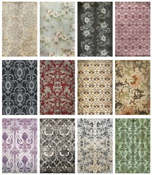 "Bild von Idea-Ology Worn Wallpaper 5""X8"" 24/Pkg-Halloween, 12 Designs/2 Each"