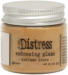 Bild von Tim Holtz Distress Embossing Glaze -Antique Linen