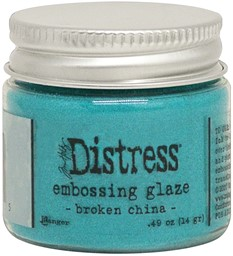 Bild von Tim Holtz Distress Embossing Glaze -Broken China