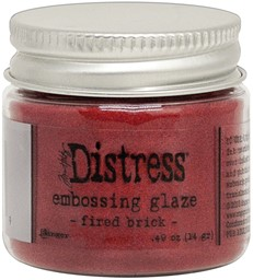 Bild von Tim Holtz Distress Embossing Glaze -Fired Brick