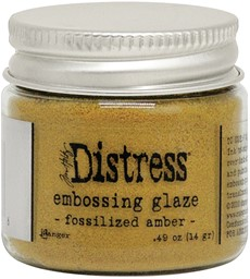 Bild von Tim Holtz Distress Embossing Glaze -Fossilized Amber