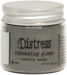 Bild von Tim Holtz Distress Embossing Glaze -Hickory Smoke