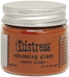 Bild von Tim Holtz Distress Embossing Glaze -Rusty Hinge