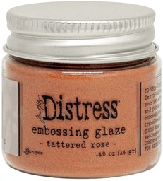 Bild von Tim Holtz Distress Embossing Glaze -Tattered Rose