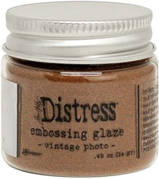 Bild von Tim Holtz Distress Embossing Glaze -Vintage Photo