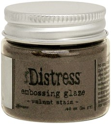 Bild von Tim Holtz Distress Embossing Glaze -Walnut Stain