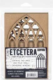 Bild von Tim Holtz Ecetera Cathedral Windows-
