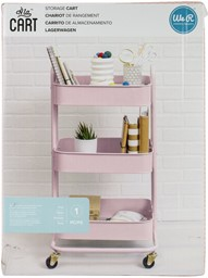 Bild von We R A La Cart Storage Cart With Handles-Pink