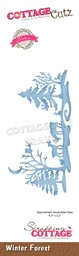 "Bild von CottageCutz Elites Die-Winter Forest 4.5""X2.2"""