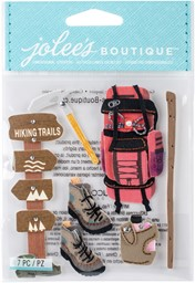 Bild von Jolee's Boutique Dimensional Stickers-Hiking Trip