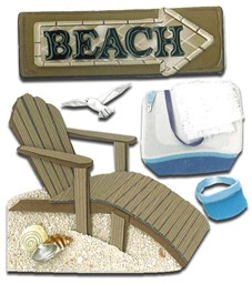 Bild von Jolee's Boutique Dimensional Stickers-Beach House