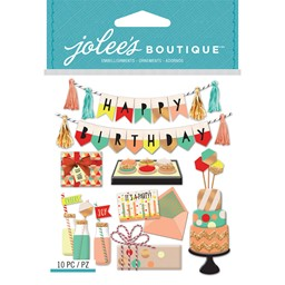 Bild von Jolee's Boutique Dimensional Stickers-Mod Happy Birthday