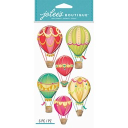Bild von Jolee's Le Grande Dimensional Stickers-Hot Air Balloons