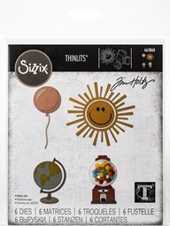 Bild von Sizzix Thinlits Dies By Tim Holtz-Circle Play